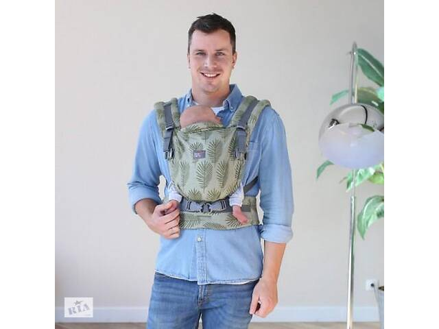 Эрго - рюкзак для новорожденных Love & Carry Маями, зеленый. Подарок для мальчика от 4 месяцев.- объявление о продаже  в Киеве