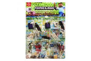 "Фигурки ""Minecraft"" на листе, 20 штук 14251"