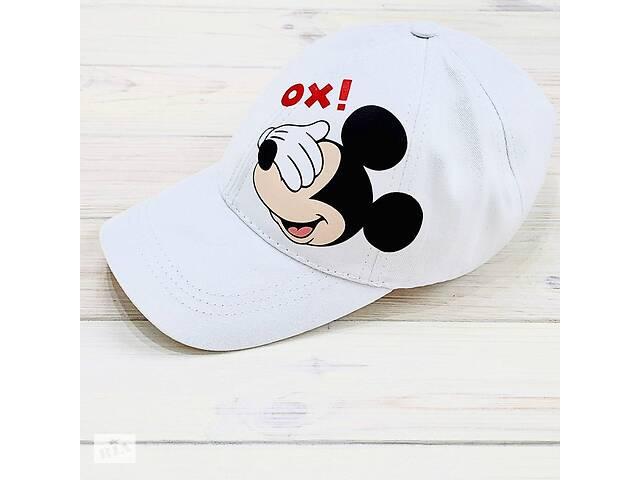 купить бу Кепка женская белая с принтом Mickey Mouse микки маус SKL59-259669 в Харькове