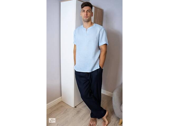 Комплект чоловічого одягу для дому з натурального льону- объявление о продаже  в Чернігові