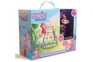 Комплект  Fingerlings Jungle Gym PlaySet интерактивная обезьянка Mia
