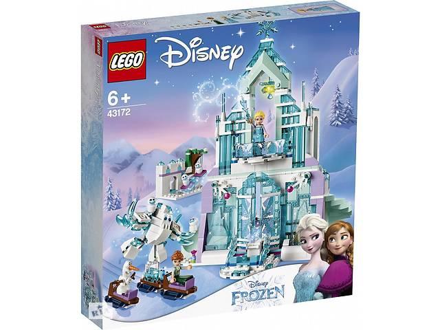 купить бу Конструктор Lego Disney Princess Волшебный ледяной дворец Эльзы в Киеве