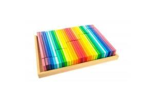 Конструктор Nic деревянный Строительные пластины 64 эл. (NIC523302)