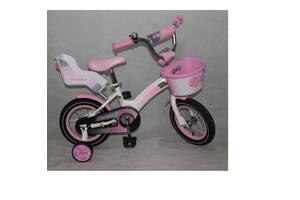 Велосипед двухколесный Crosser Kids Bike 14, 16, 18, 20 дюймов розовый