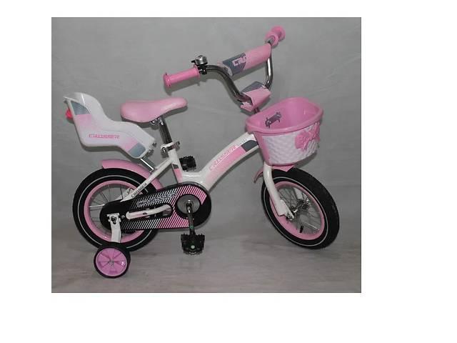 купить бу Велосипед двоколісний Crosser Kids Bike 14, 16, 18, 20 дюймів рожевий в Львові