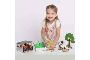 """Кукольный домик - игровой набор NestWood """"ФЕРМА"""" (комплектация MINI)"""