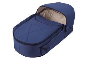Люлька-переноска Babyroom BLP-055 з твердим дном темно-синій