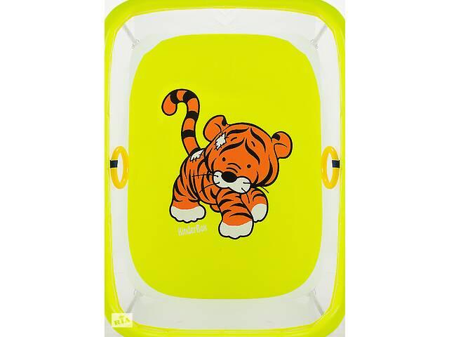 Манеж Qvatro LUX-02 мелкая сетка  желтый (tiger)- объявление о продаже  в Одессе