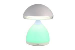 Міняє кольори Led нічник Mush Light Атмосферная лампа Гриб з пружною капелюшком з акумулятором