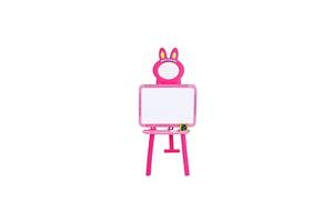 Мольберт 3в1 Bambi 0703 UK-ENG Pink (0703 UK-ENG pink)
