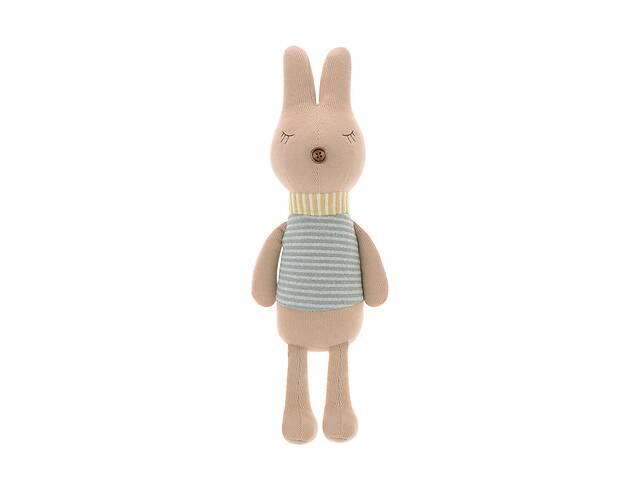 Мягкая игрушка Кролик в полоску, 38 см Metoys- объявление о продаже  в Киеве