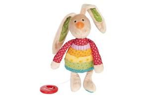 Мягкая игрушка sigikid музыкальный Кролик 27 см (40577SK)