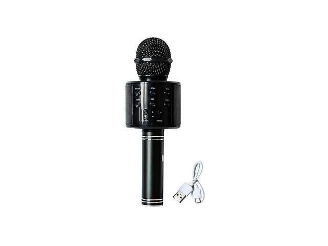 бу Микрофон-караоке WSTER WS-858 Черный в Харькове