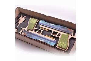 Набір деререв'яних резинкострілів DaisySign Gift Set SHIBAY HOLOVA