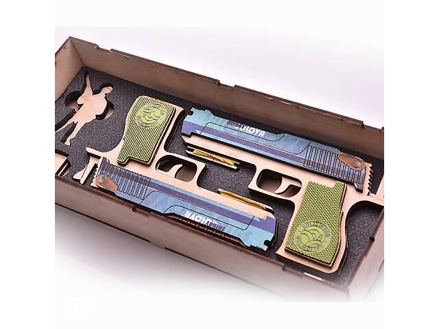 продам Набір деререв'яних резинкострілів DaisySign Gift Set SHIBAY HOLOVA бу в Одессе