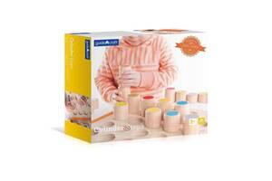 Набор детских деревянных цилиндров Guidecraft Manipulatives, 26 шт.