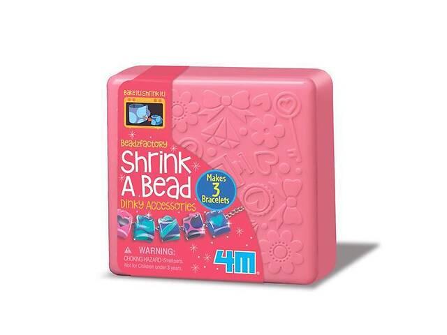 купить бу Набор детский для творчества 4M Украшения из бусин Мода, с карандашами, розовая коробка шкатулка в Киеве
