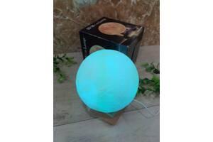 Настольный светильник-ночник 3D MOON LAMP Месяц 15 см