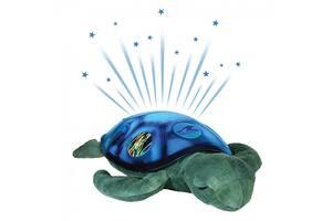 Ночник-черепашка, Детский музыкальный ночник-проектор Baby Tilly«Спящая Черепаха», зеленая
