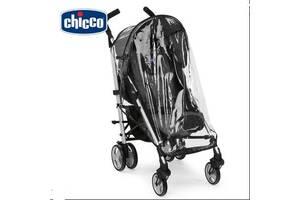 Новый чехол дождевик Chicco для прогулочной коляски. Силиконовый