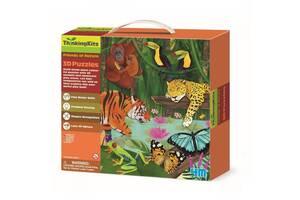 Пазл 4М 3D Тропический лес (00-04678)