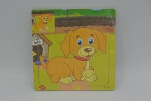 Пазл деревянный Метр-плюс (MD 1423-1), собачка