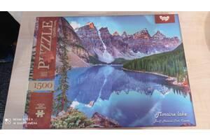 Пазли на 1500 елементів Moraine Lake (озеро Морейн, Канада)