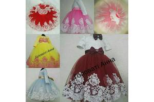 Платье на годик,платья пышное,платья на выпускной, платья на день рождения,платья на свадьбу,платья красивое на утренник