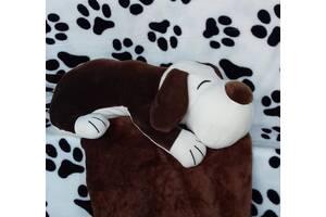 Плед+ Подушка= Игрушка Собачка