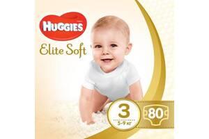 Подгузник Huggies Elite Soft 3 Mega 80 шт (5029053545295)