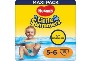 Подгузник Huggies Little Swimmers 5-6 19 шт (5029053538433)