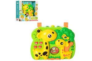 Подвеска на кроватку Жираф A-Toys проектор детский со светом, музыкой, звуками, колыбельная самым маленьким