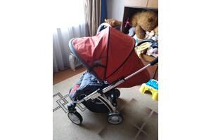 Продам детскую коляску тройку дешево, немецкое качество в хорошем состоянии