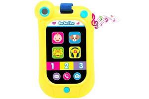 Развивающая игрушка BeBeLino Интерактивный смартфон (желтый) (58160)