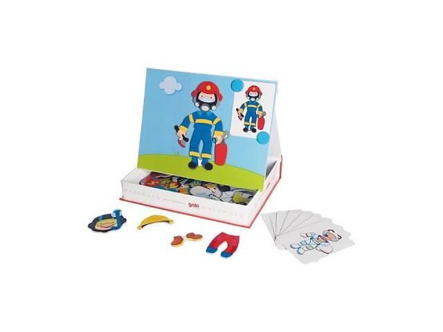 Развивающая игрушка Goki Магнитная книга Наряды для мальчика (58741G)- объявление о продаже   в Украине