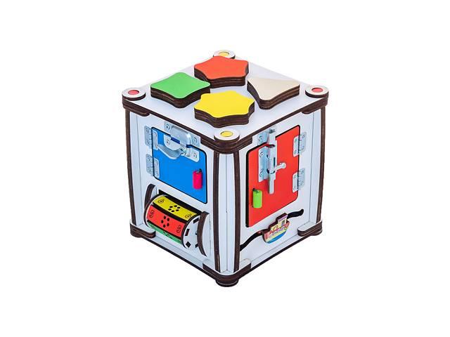 """Развивающий бизиборд GoodPlay """"Кубик развивающий"""" 17х17х18 с подсветкой на батарейках, разноцветный- объявление о продаже  в Киеве"""
