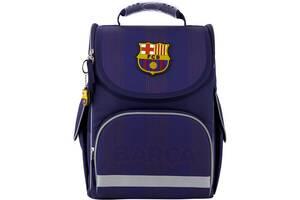 Рюкзак школьный Kite BC20-501S каркасный FC Barcelona