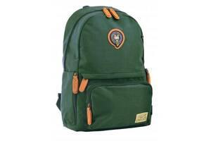 Рюкзак школьный Yes OX 342 зеленый (555754)