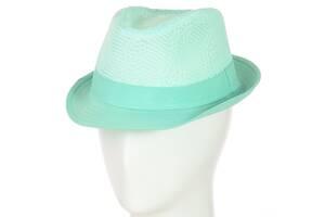 Шляпа Челентанка 12017-6 мятный SKL11-249324