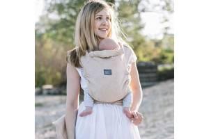 Слинг - шарф для новорожденных с зауженными концами ЛавТай Love & Carry Сахара, бежевый