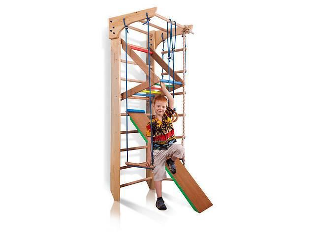Спортивный уголок  «Kinder 3-220» SportBaby Комплектация Спортивный уголок «Kinder 3-220»   1.    Шведская сте