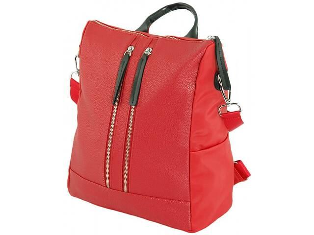бу Стильная сумка-рюкзак Traum 7229-42 красный 14 л в Киеве