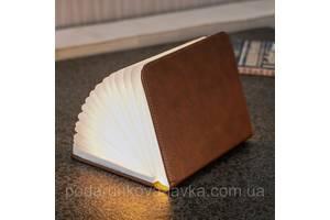 """Светильник-книга """"Smart Book"""", натуральная кожа"""