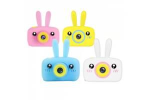 Цифровой детский фотоаппарат Rabbit, цвет розовый, голубой, желтый, белый SKL11-265766