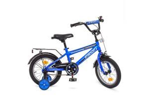 Велосипед детский двухколесный PROFI T1473 Forward 14 дюймов синий
