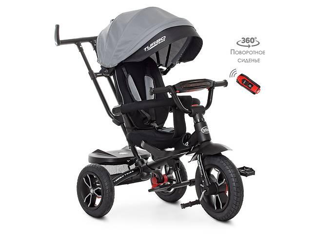бу ⏩ Велосипед-коляска детский трехколесный Turbo Trike M 4058HA-19-1 серый в Одессе