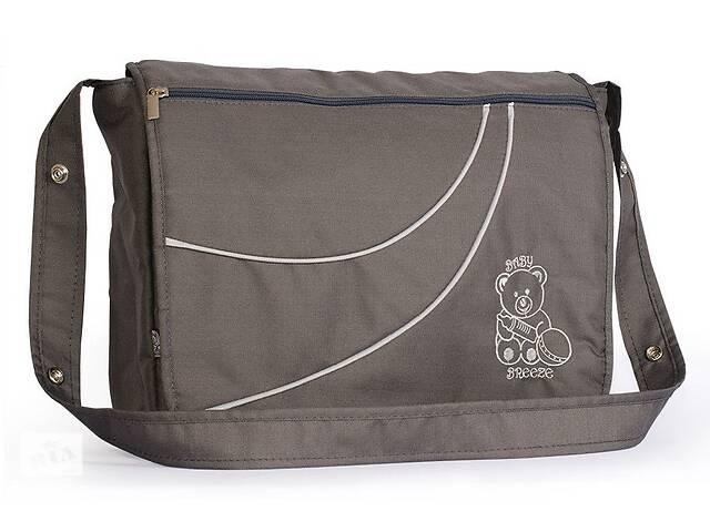 купить бу Вместительная сумка дляколяскиBaby Breeze из водоотталкивающей ткани 0351 графит в Одессе