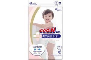 Японские подгузники для детей 9-14кг на липучках Goo.N Plus РазмерL54 шт Унисекс (843336)