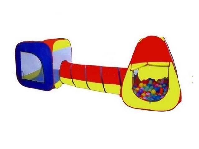 Игровая детская палатка 3в1 Play Smart с тоннелем, в сумке- объявление о продаже  в Киеве