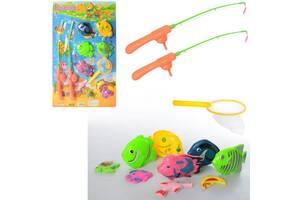"""Игровой набор для ванной детский магнитный """"Рыбалка"""" Metr+, 12 предметов"""